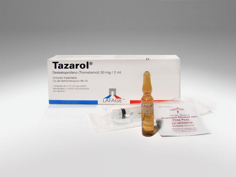 TAZAROL® (Solución Inyectable)