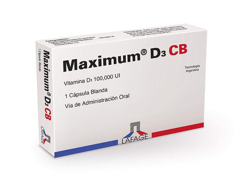 Maximum® D3 CB