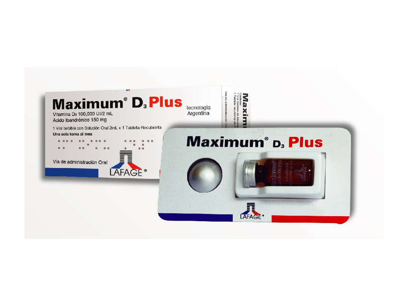 MAXIMUM® D3 PLUS
